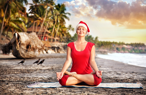 Meditation during Christmas and New Year's Eve