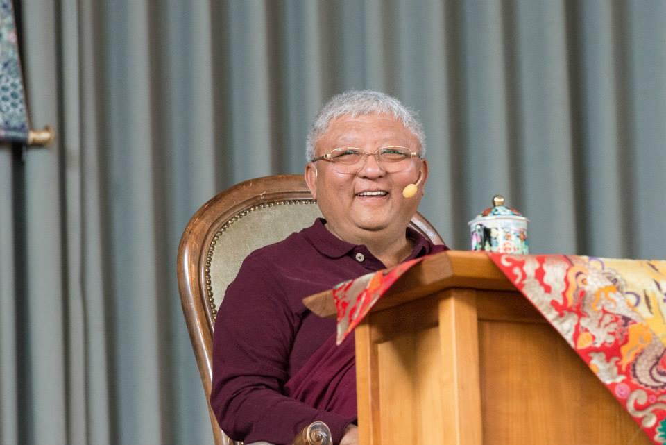 Online učení s Jigme Rinpočhem